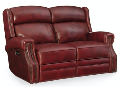 Hooker Furniture Carlisle Power Motion Loveseat w/Pwr Headrest SS460-P2-165