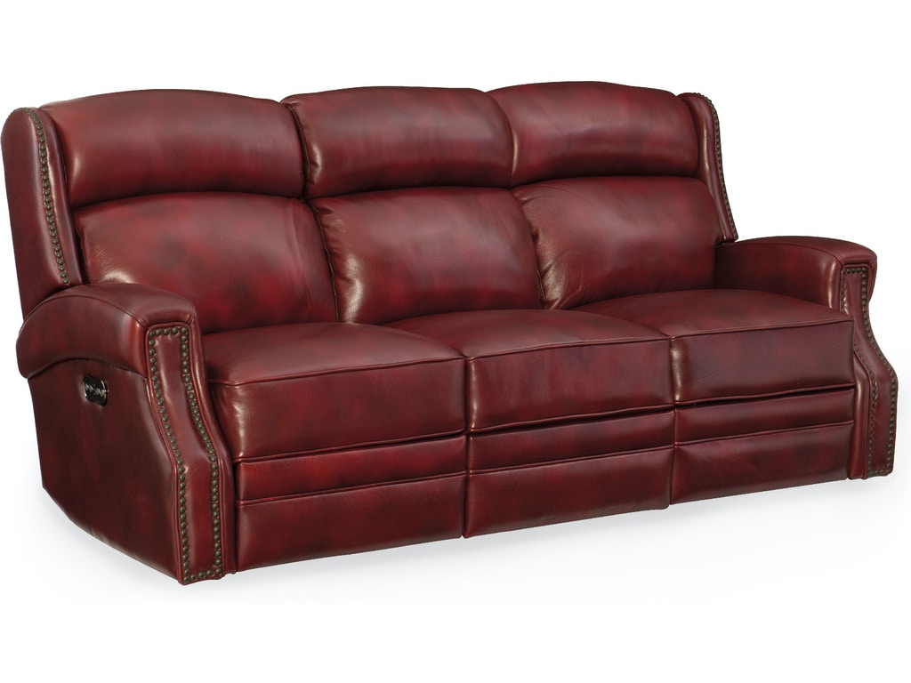 Hooker Furniture Living Room Carlisle Power Motion Sofa W