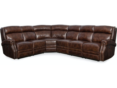 Hooker Furniture Carlisle 4 PC Power Sectional SS460-PS-188