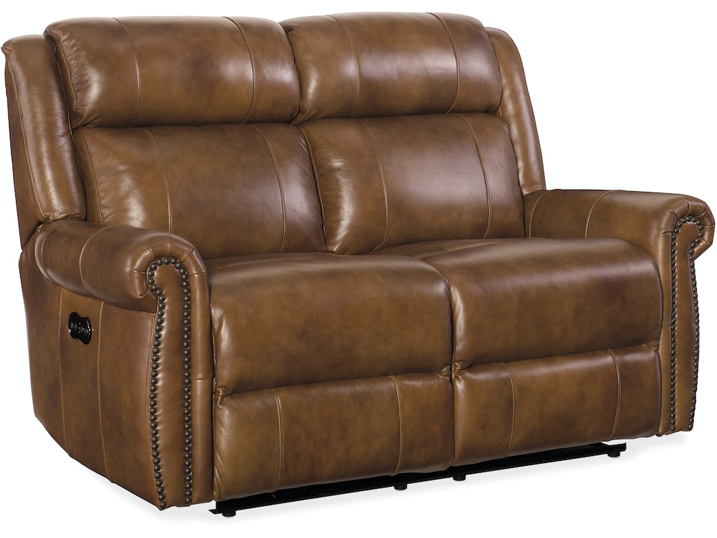 Hooker Furniture Living Room Esme Power Motion Loveseat W
