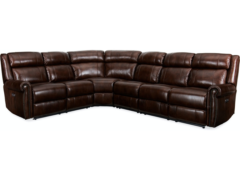 Hooker Furniture Living Room Esme 4 PC Power Sectional SS461-PS-188 ...