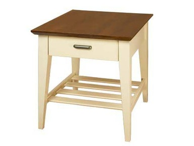 A A Laun Furniture End Table w/Drawer 7302-08-BC