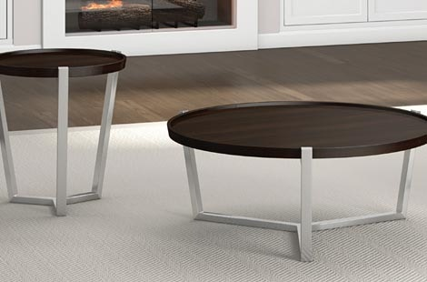 A A Laun Furniture Condo Round Cocktail Table 510 11 60. Zoom