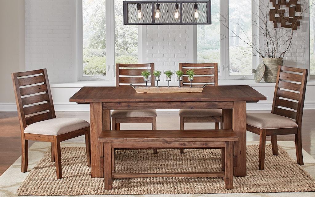 A America Anacortes Trestle Table Anasm6300 Portland Or Key Home Furnishings