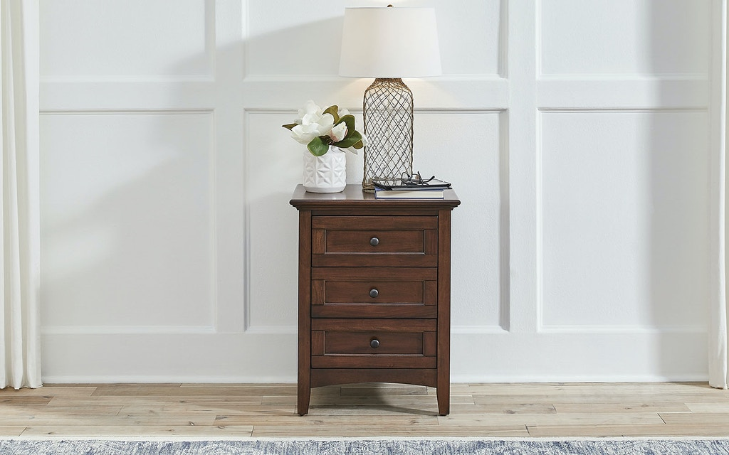 A America Bedroom 3 Drawer Nightstand Wslcb5750 Drury S Inc Fountain Mn