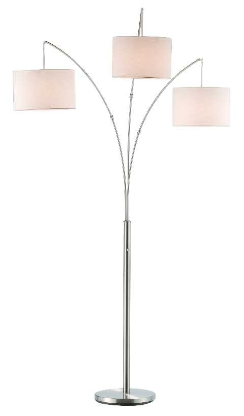 Charmant Adesso Lamps And Lighting Trinity Arc Lamp 4238 22 At Dewey Furniture