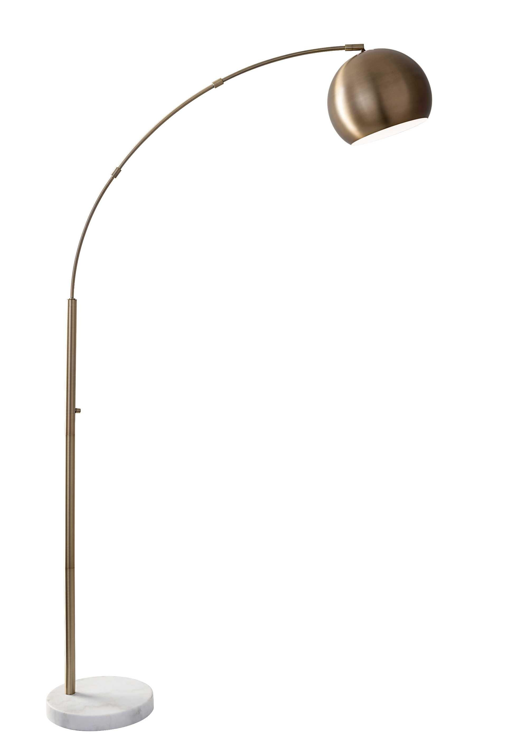 Adesso Lamps And Lighting Astoria Arc Lamp 5170 21 At Dewey Furniture