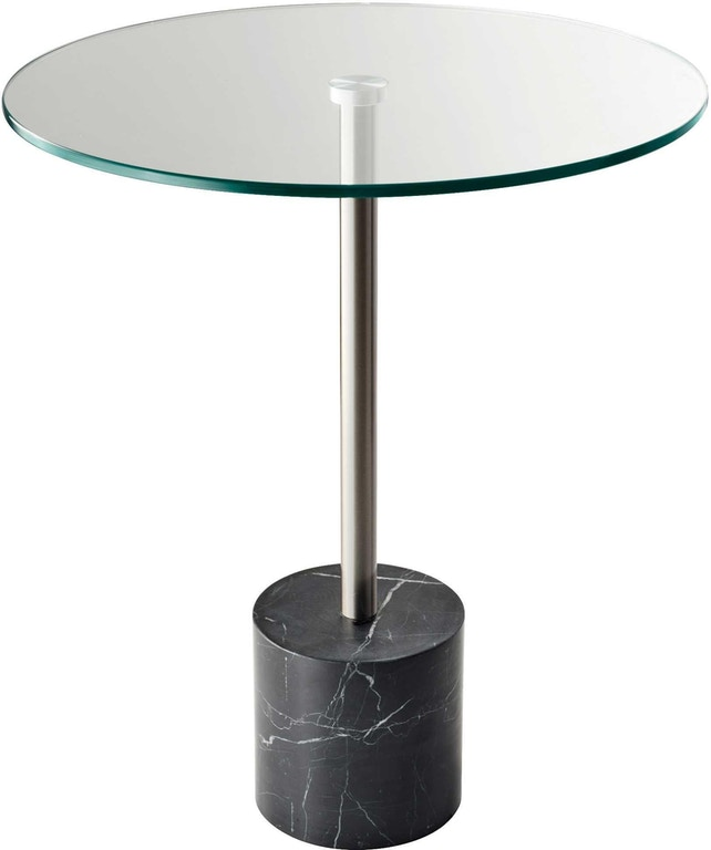 Fine Adesso Living Room Blythe End Table Black Marble Hx5282 01 Interior Design Ideas Ghosoteloinfo