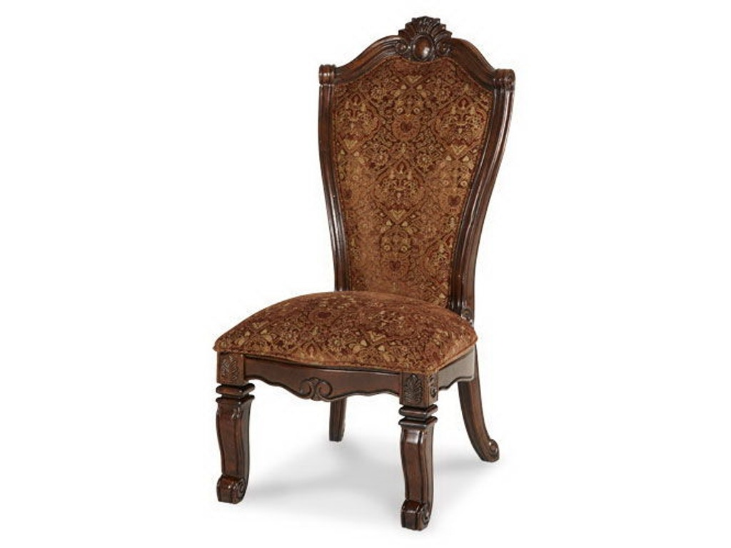 Aico amini innovations dining room side chair 70003 54 for Dining room johnson city tn