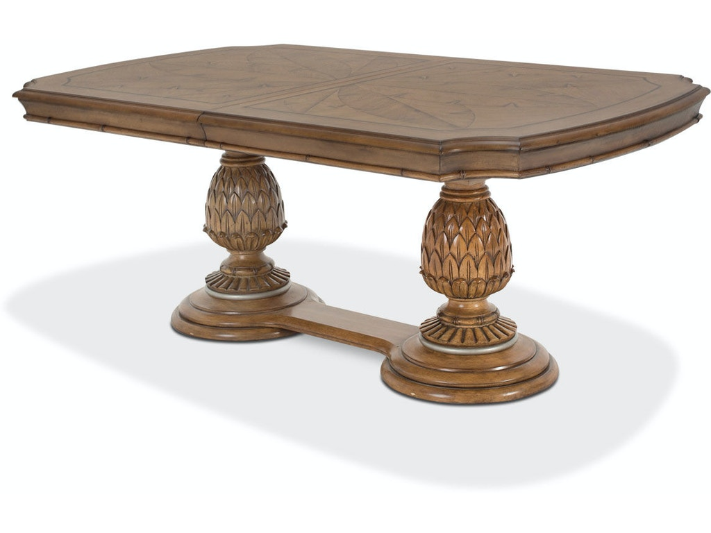 Michael Amini Dining Room Rectangle Dining Table Base 9081002b 109 T H Perkins Furniture