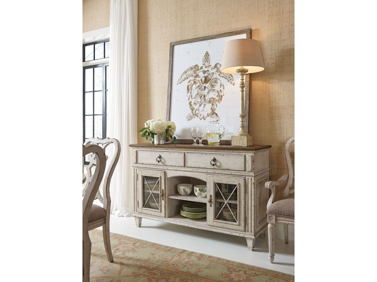 American drew dining room server 513 850 howell for Furniture in beaumont tx