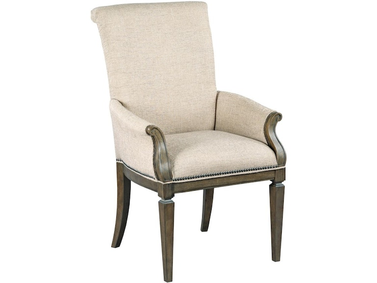 American Drew Dining Room Camille Upholstered Arm Chair 654 ...