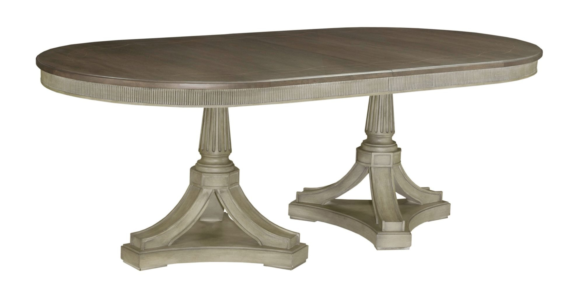 American Drew Friedrick Dining Table Complete 654 744R