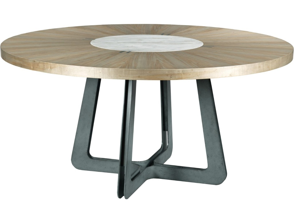 American Drew Dining Room Concentric Round Dining Table
