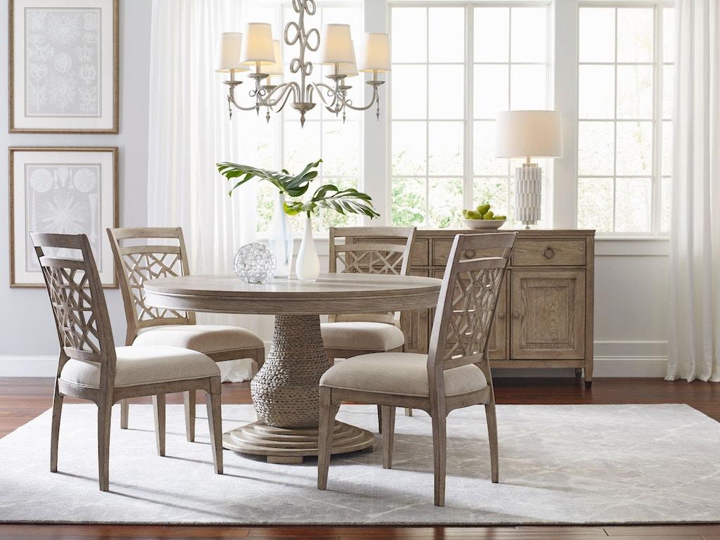 American Drew Dining Room Largo Round Dining Table