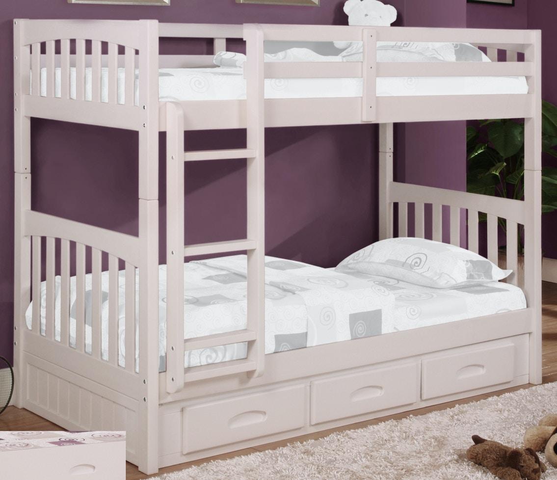American Furniture Classics Bedroom Twin/Full Bunk Bed 2118 TFH