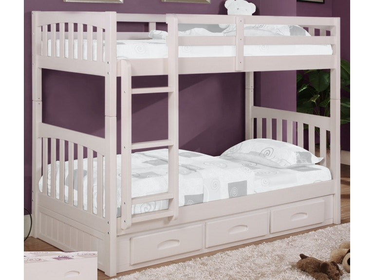 American Furniture Clics Bedroom Twin Bunk Bed 0210 Ttw At Aaron S Fine