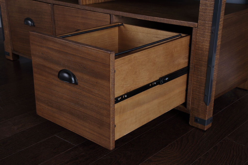Credenza Console : American furniture classics home office credenza console with three