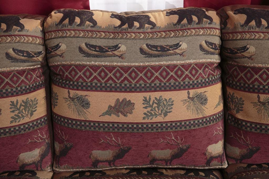 American Furniture Clics Sierra Lodge Sleeper Sofa 8505 10