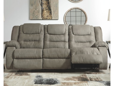 Signature Design By Ashley Living Room Mccade Reclining
