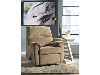 Signature Design By Ashley Living Room Zero Wall Recliner
