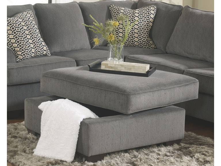 Ashley Furniture Living Room Ottoman With Storage 1270011 At Hunter S