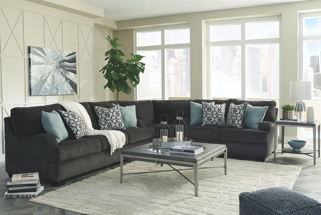 Benchcraft Living Room Charenton 3 Piece Sectional 14101s1