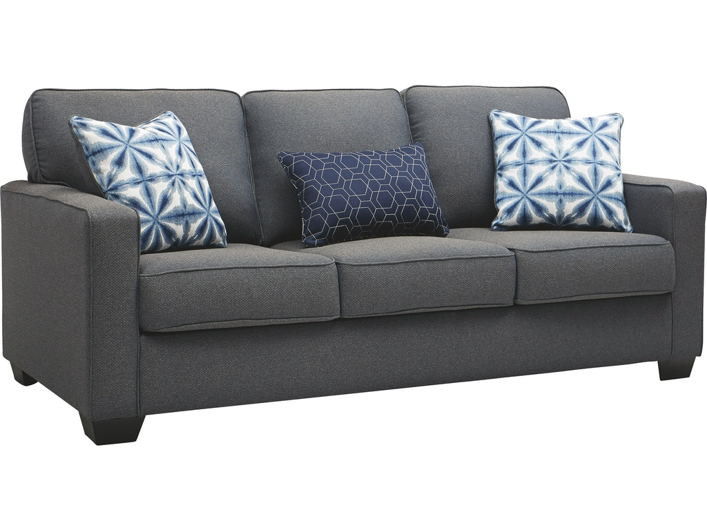 Wondrous Benchcraft Living Room Kiessel Nuvella Queen Sofa Sleeper Pabps2019 Chair Design Images Pabps2019Com