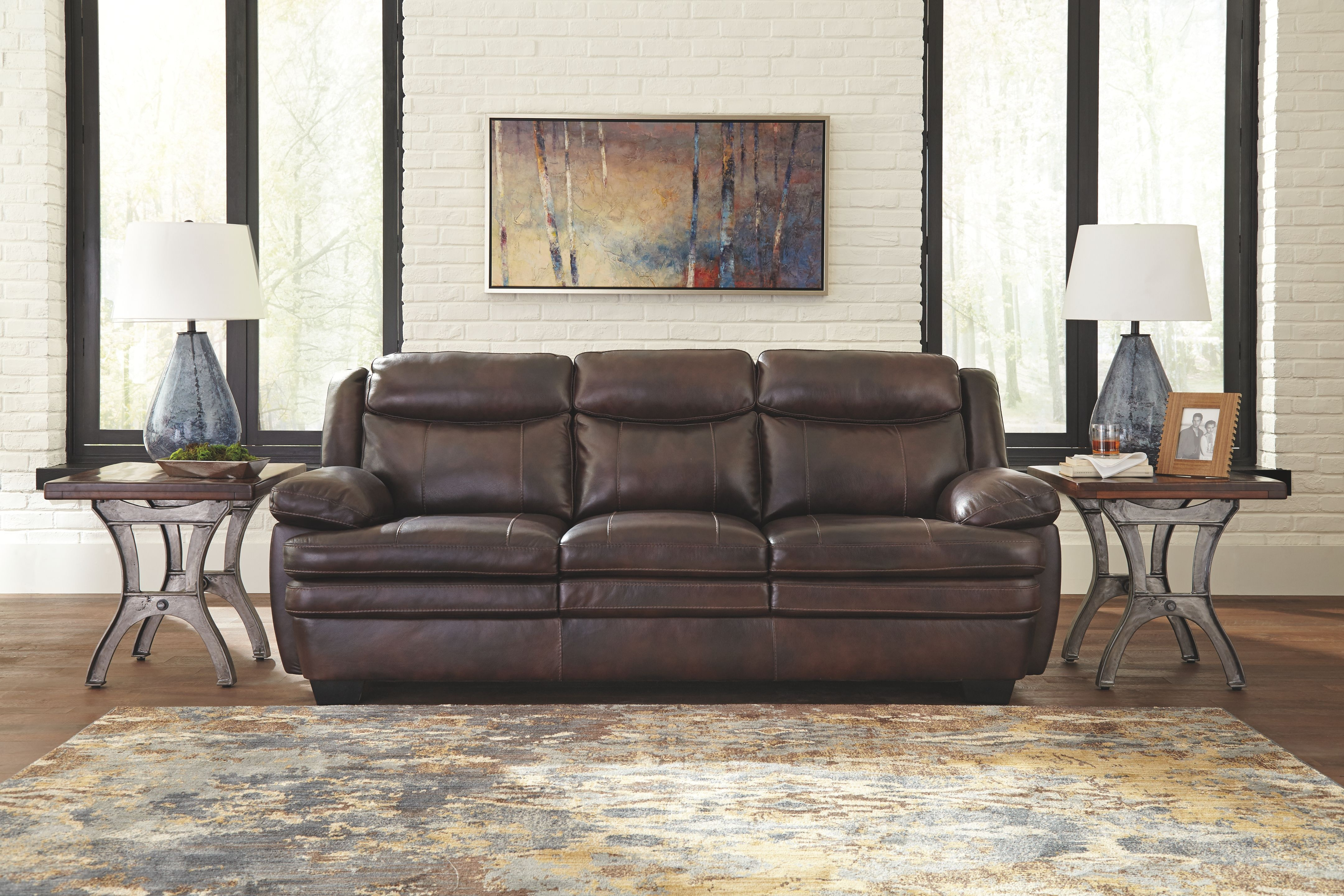 living room furniture cleveland signature design by sofa on at elgin furniture 13036