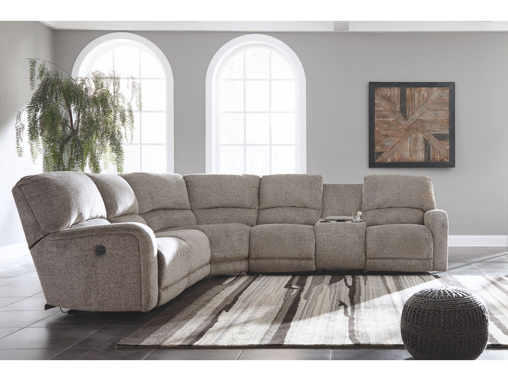 Signature Design By Ashley Living Room Power Reclining