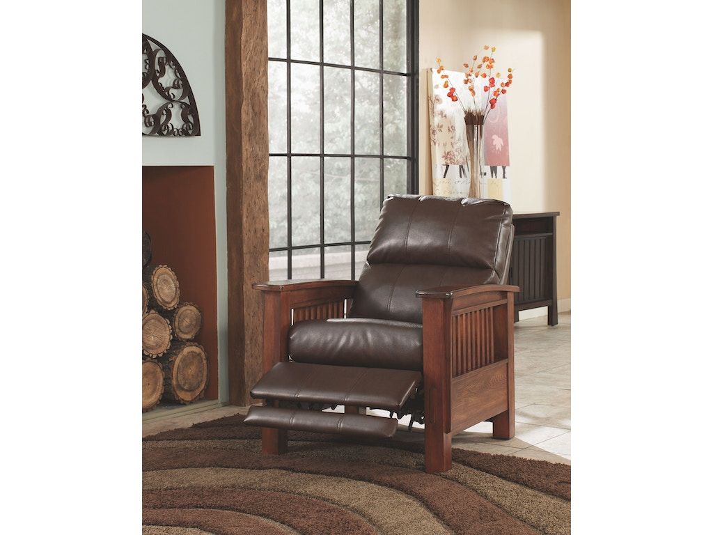 Signature Design By Ashley Living Room High Leg Recliner 1990026 New Look Furniture Lake