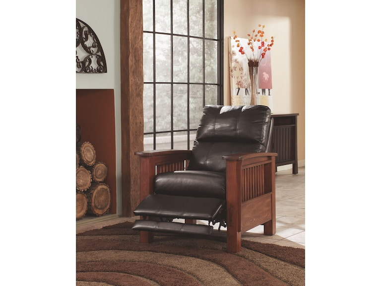Signature design by ashley living room high leg recliner for Kitchen remodel yuba city ca