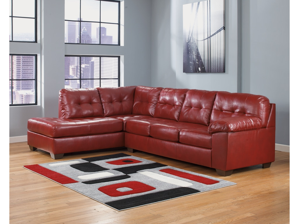 Signature Design By Ashley Living Room Raf Sofa 2010067 Blockers Furniture Ocala Fl