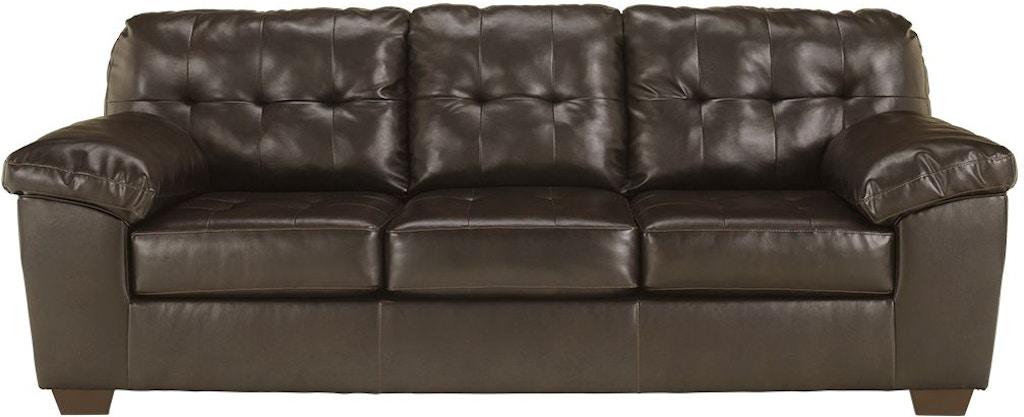 Excellent Signature Design By Ashley Living Room Alliston Queen Sofa Interior Design Ideas Clesiryabchikinfo