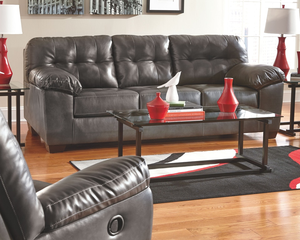 Swell Signature Design By Ashley Living Room Alliston Queen Sofa Gmtry Best Dining Table And Chair Ideas Images Gmtryco