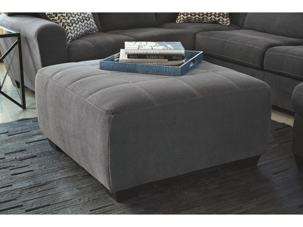 Signature Design By Ashley Living Room Oversized Accent Ottoman 2860008 Pittsfield Furniture