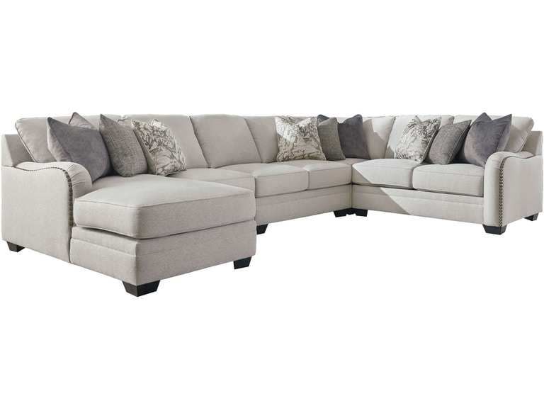 Benchcraft Living Room Dellara 5-Piece Sectional with Chaise ...