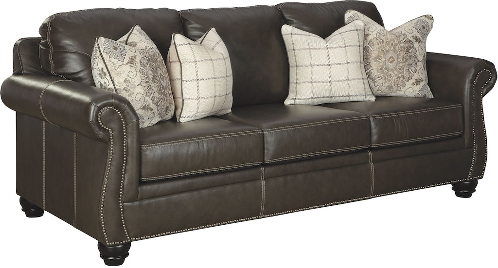 Pleasing Signature Design By Ashley Living Room Lawthorn Queen Sofa Interior Design Ideas Clesiryabchikinfo