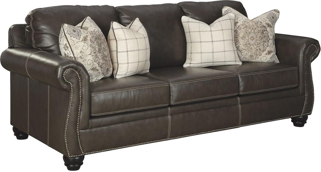 Wondrous Signature Design By Ashley Living Room Lawthorn Queen Sofa Interior Design Ideas Truasarkarijobsexamcom