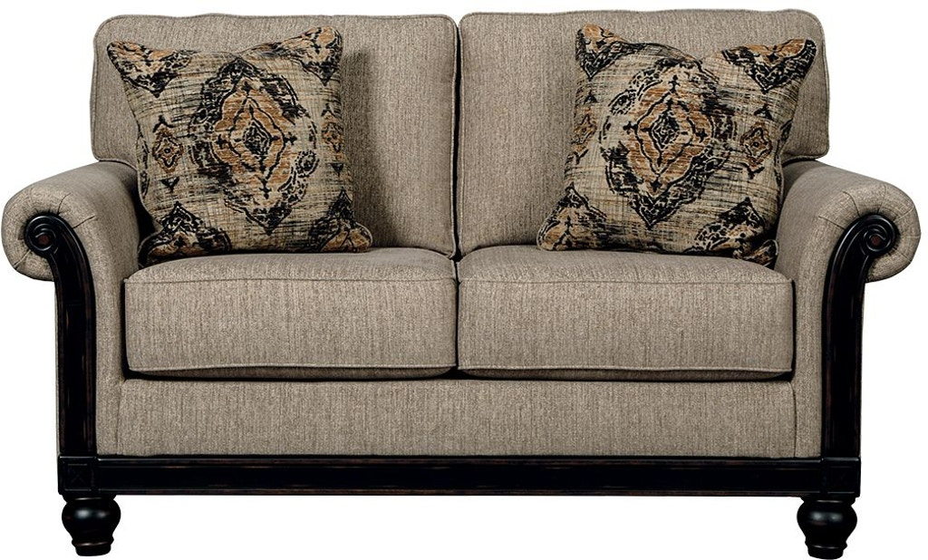 Signature Design By Ashley Living Room Blackwood Loveseat