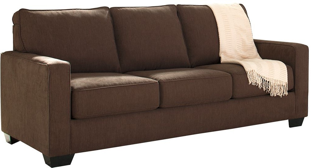 Signature Design by Ashley Living Room Zeb Queen Sofa Sleeper ...