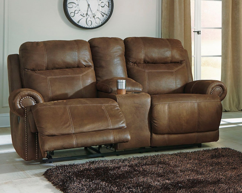 Signature Design By Ashley Living Room Austere Reclining