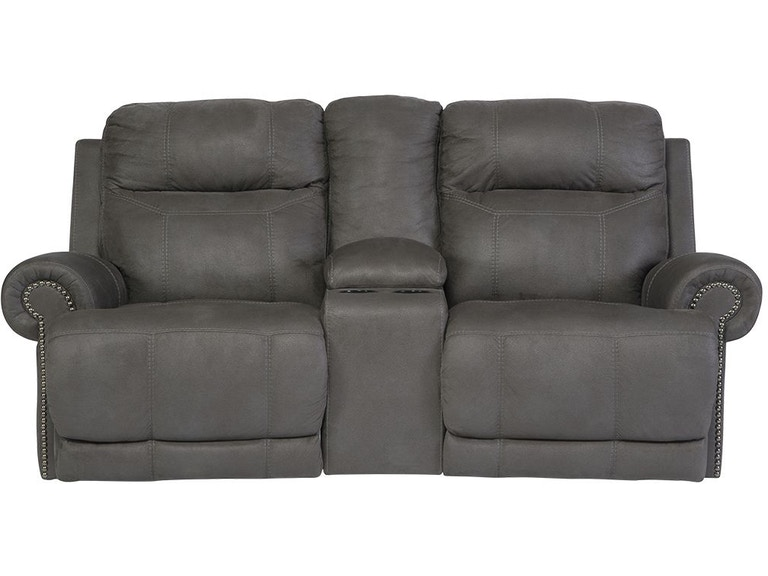 Tremendous Austere Reclining Loveseat With Console Short Links Chair Design For Home Short Linksinfo