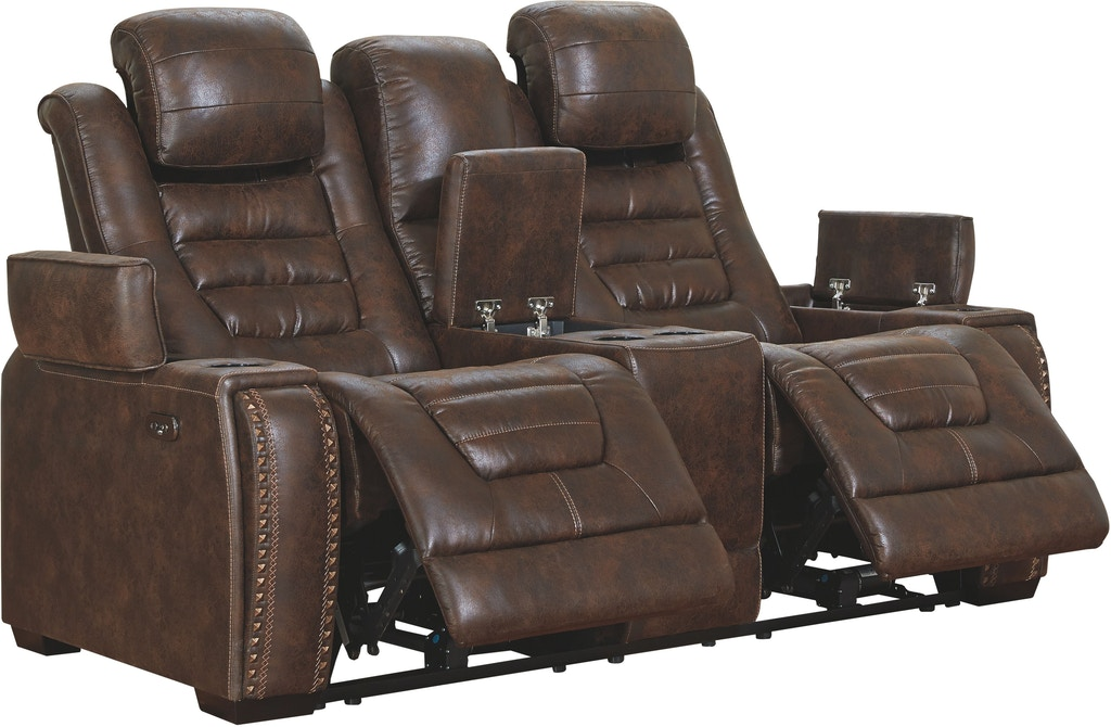 Fantastic Game Zone Power Reclining Loveseat With Console Machost Co Dining Chair Design Ideas Machostcouk