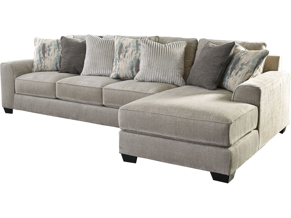 Pleasant Benchcraft Living Room Ardsley 2 Piece Sectional With Chaise Uwap Interior Chair Design Uwaporg