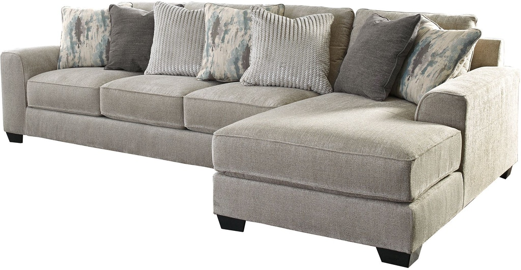 Benchcraft Living Room Ardsley 2 Piece Sectional With Chaise 39504s5 Capital Discount Furniture