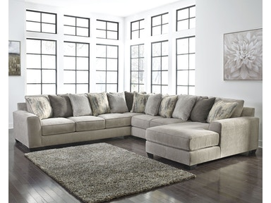 Isabel 4-Piece Sectional with Chaise