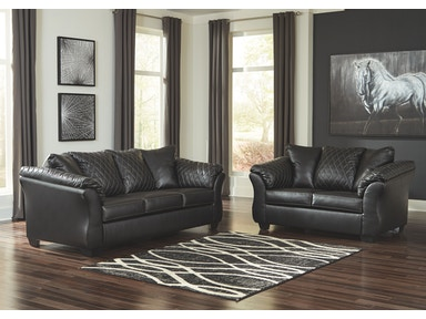 Signature Design by Ashley Living Room Betrillo Sofa ...