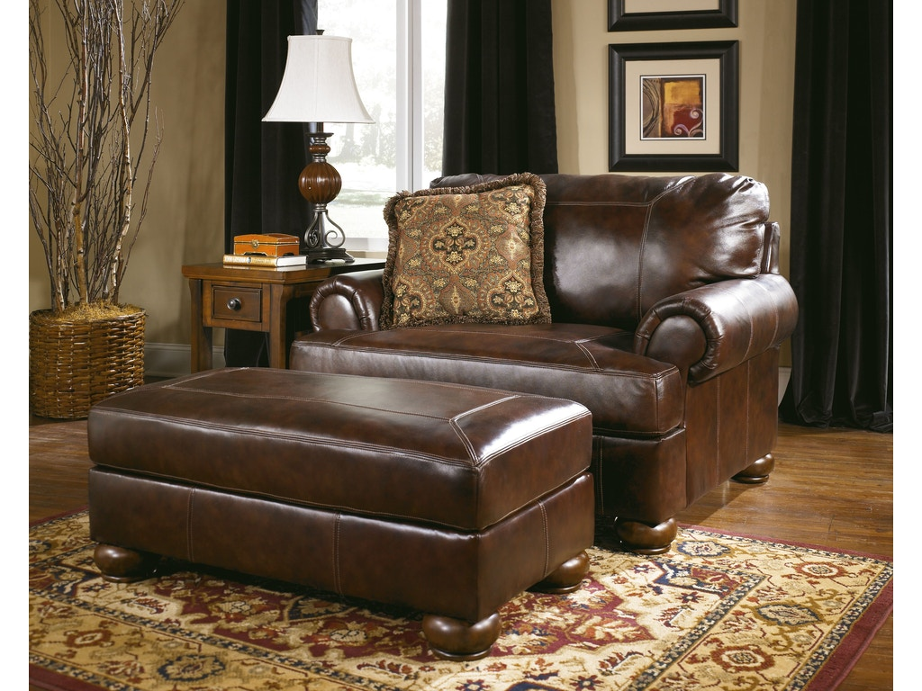 Signature Design By Ashley Living Room Ottoman 4200014 Charter Furniture Dallas Fort Worth Tx