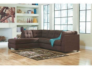 2 PC Chaise/Sectional..Available in 3 Designer Covers 4520116-67
